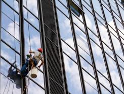 大楼外墙清洗-无锡焕然之新保洁服务有限公司