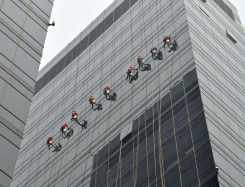 建筑外墙清洗-无锡焕然之新保洁服务有限公司