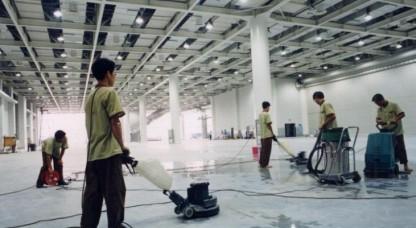 停车场保洁案例-无锡焕然之新保洁服务有限公司
