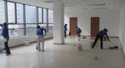 办公楼保洁案例-无锡焕然之新保洁服务有限公司